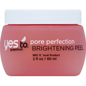 Yes To Brightening Peel, Pore Perfection