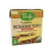 Pacific Organic Burmese Tofu, Chipotle