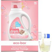 Dreft Stage 1: Newborn, Liquid Laundry Baby Detergent Eco-Box, He Compatible