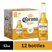 Corona Light Mexican Lager Beer Bottles