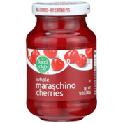 Food Club Whole Maraschino Cherries