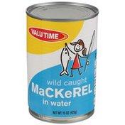 Valu Time Wild Caught Mackerel In Water