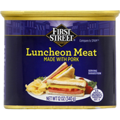 First Street Luncheon Meat