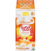 Happy Tot Organic Superfoods Bananas, Peaches & Mangos Stage 4 Baby Food