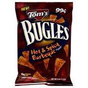 Tom's Bugles, Hot & Spicy Barbecue Flavor