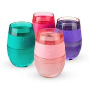 Host Wine FREEZE™ Cooling Cups, Assorted Translucent Colors