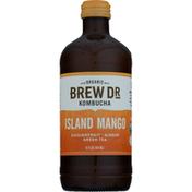 Brew Dr. Kombucha Island Mango Green Tea Kombucha