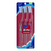 CareOne All-Pro Bi-Level Bristles Toothbrushes Soft - 3 CT