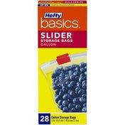 Hefty Sliders Gallon Storage Bags