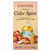 New Hope Mills Cider Spice