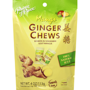 Prince of Peace Ginger Chews, Mango