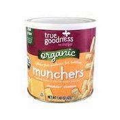 Meijer True Goodness Organic Munchers, Baked Whole Grain Corn Snack