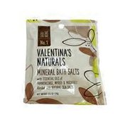 Valentina's Naturals Mineral Bath Salts With Essential Oils