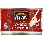 ASIAN GOURMET Water Chestnuts, Diced