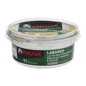 Tnuva Labaneh Low Fat Sour Cheese Spread with Za'atar Seasoning & Olive Oil