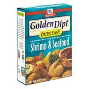 Golden Dipt Coating Mix for Baked Seafood, Shrimp & Seafood