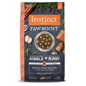 Instinct Raw Boost Real Salmon Recipe Grain-Free Dry Dog Food