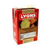 Lyons Ready To Server 100% Pineapple Juice