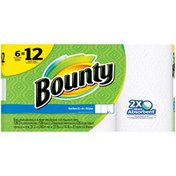 Bounty Select A Size Paper Towels, White