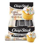 Chapstick Cake Batter Flavored Lip Balm, Cake Batter Flavored Lip Balm