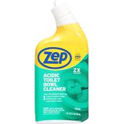 Zep Acidic Toilet Bowl Cleaner, 2x Thicker