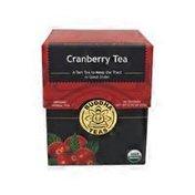 Buddha Teas Organic Cranberry Tea Bags