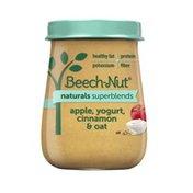 Beech-Nut Naturals Superblends Apple, Yogurt, Cinnamon & Oat