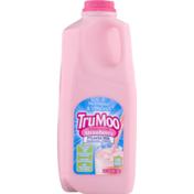 TruMoo Milk, Lowfat, Strawberry, 1% Milkfat