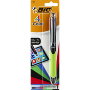 BiC Ball Pen, 4 Color, Assorted Ink, Medium