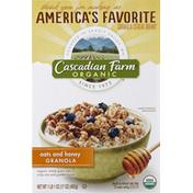 Cascadian Farm Granola, Oats and Honey