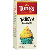 Tone's Yellow Food Coloring