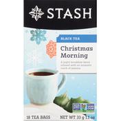 Stash Tea Black Tea, Christmas Morning, Tea Bags