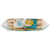 Ahold Bagels, Enriched, Thin Sliced, Everything