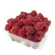 Select Ripe Raspberries