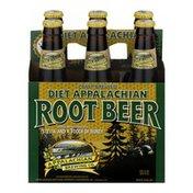 Appalachian Brewing Company Root Beer Diet Appalachian - 6 CT