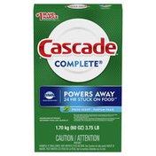 Cascade Complete Powder Dishwasher Detergent, Fresh Scent