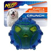 """NERF DOG 2.75"""" Puffer Fish With Crunch Dog Toy"""