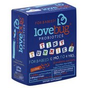 Lovebug Probiotics, for Babies 12 Month to 4 Years