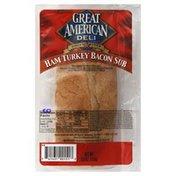 Great American Sub, Ham Turkey Bacon