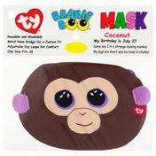Ty Beanie Boo Face Mask, Coconut