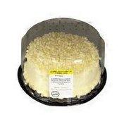 "Meijer 8"" Lemon Raspberry Filled Yellow Cake"