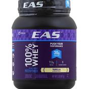 EAS Whey Protein Powder Vanilla Powder Canister