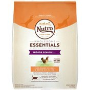 NUTRO Natural Choice Chicken & Whole Brown Rice Formula Indoor Senior Cat Food
