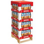 Quaker Rice Crisps Cheddar Cheese/Caramel Corn Display
