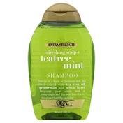 OGX Refreshing Scalp + Teatree Mint Extra Strength Shampoo