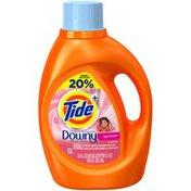 Tide Plus Downy April Fresh Liquid Laundry Detergent