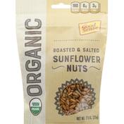 GoodSense Sunflower Nuts, Organic, Roasted & Salted