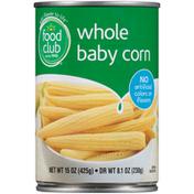 Food Club Whole Baby Corn