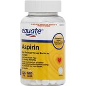 Equate Aspirin, 325 mg, Adults, Coated Tablets