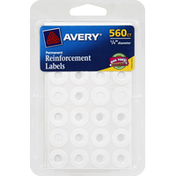 Avery Reinforcement Labels, Permanent